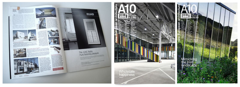 A10 new European Architecture magazine #14,#26 | draftworks*